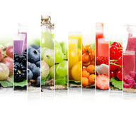 Preparato della bevanda di frutta Fotografia Stock