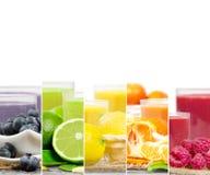 Preparato della bevanda di frutta Immagini Stock Libere da Diritti