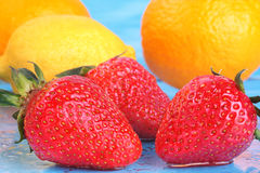 Preparato della frutta fresca fotografia stock