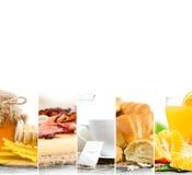 Preparato della prima colazione Fotografie Stock