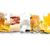 Preparato della prima colazione Fotografia Stock