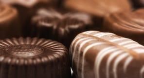 Preparato delle caramelle di cioccolato Fotografie Stock Libere da Diritti