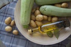 Preparato dello zucchini Fotografia Stock Libera da Diritti