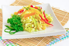 Preparato fresco variopinto dell'insalata Immagine Stock