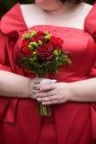 preparaty kwiatek bukiet ślub Obraz Royalty Free
