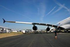 Preparazione 3 del Airbus A380 Fotografia Stock Libera da Diritti