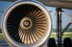 Preparazione degli aerei per il volo Immagine Stock