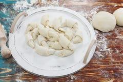 Preparazione dei croissant Fotografia Stock Libera da Diritti