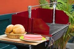 Preparazione del barbecue Fotografie Stock