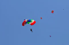 Preparazione del campionato paracadutante militare del mondo Fotografia Stock Libera da Diritti