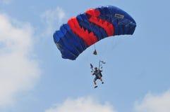 Preparazione del campionato paracadutante militare del mondo Immagini Stock Libere da Diritti