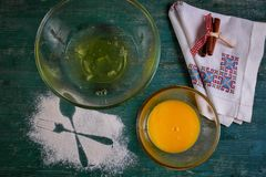 Preparazione del dessert Immagine Stock Libera da Diritti