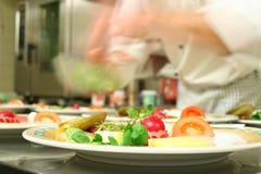 Preparazione del food3 sano Immagini Stock
