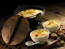 Preparazione del porridge Fotografia Stock Libera da Diritti