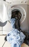 Preparazione della lavanderia sporca Fotografia Stock