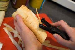Preparazione di alimento Immagini Stock Libere da Diritti
