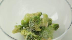 Preparazione di cavolo verde fresco
