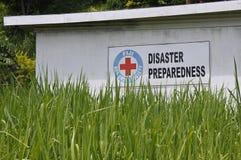 Preparazione di disastro della croce rossa di Figi Fotografia Stock