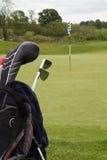 Preparazione di golf fotografia stock libera da diritti