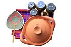 Preparazione e vasi di cottura Immagine Stock Libera da Diritti