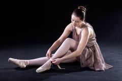 Preparazione per gioco ballante fotografie stock libere da diritti