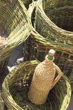 Preparazione per il raccolto dell'uva Immagini Stock Libere da Diritti
