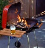 Preparazione per la cottura del barbecue immagini stock libere da diritti