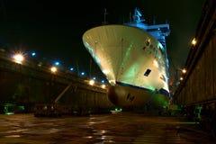 Preparazioni finali dell'imbarcazione Immagine Stock Libera da Diritti