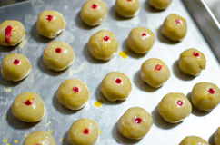 Prepare for baking Moon cake, Chinese festival Royalty Free Stock Images