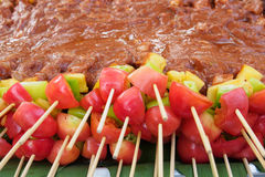 Prepare barbecue Royalty Free Stock Images