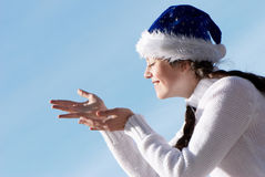 We prepare for celebrating of New Year's holidays Stock Photos