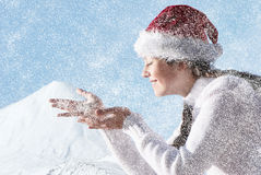 We prepare for celebrating of New Year's holidays Stock Photography