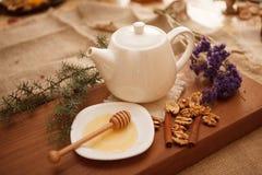Prepare cookies saborosos Conceito de família Fotografia de Stock Royalty Free