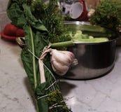 Prepare cucumber. Stock Photography