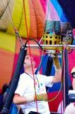 Prepare the faucet gas of balloon Royalty Free Stock Photos