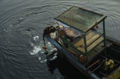 Prepare fishing Stock Image