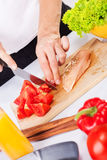 Prepare food Royalty Free Stock Photography