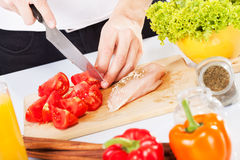 Prepare food Stock Images
