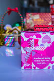 Prepare gifts Royalty Free Stock Image