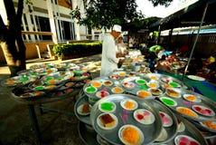 Prepare la comida para la ceremonia de boda Imagenes de archivo