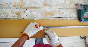 Prepare of laminate. Stock Images