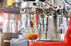 Prepare o café Fotografia de Stock
