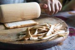 Prepare the pastry Stock Photo