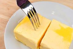 Prepare some butter to bake a cake Stock Photos