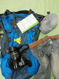 Prepare to journey Stock Photography