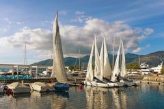 Prepare to set sail Royalty Free Stock Photo
