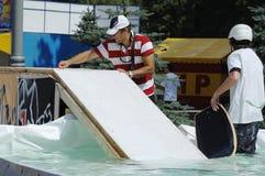 Prepare wakeboard show Stock Photos