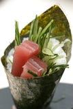 Prepared And Delicious Sushi Stock Photo