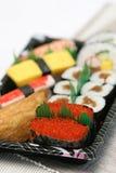 Prepared And Delicious Sushi Taken In Studio Stock Photo
