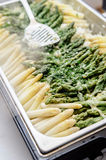 Prepared Asparagus Stock Photography